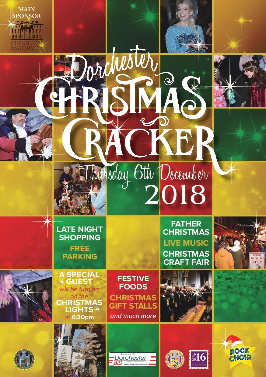 Dorchester christmas cracker 2018 dorchester chamber for business its that time of year again dorchester christmas cracker solutioingenieria Image collections