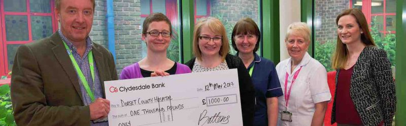 Battens donate 1000 to Cancer Appeal