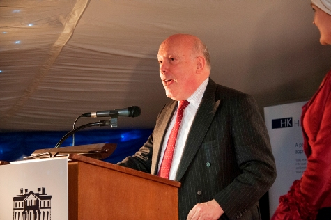 104. Lord Fellowes presenting the awards